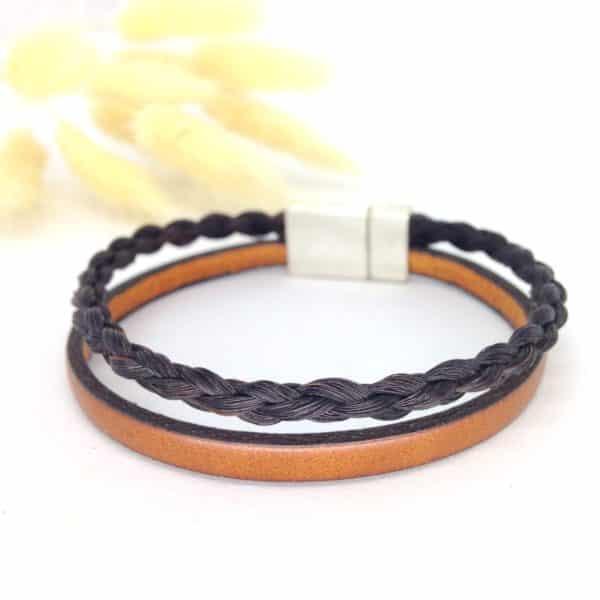Bracelet en crins Paloubet 3D