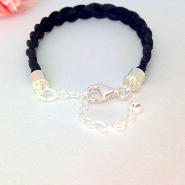 bracelet crin cheval Quismy détail