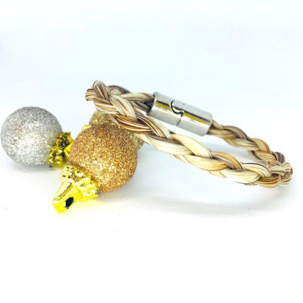 bracelet en crins molly malone tressé 3D